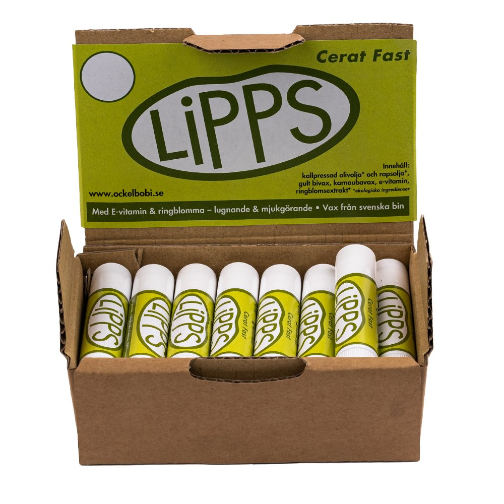 15st Lipps Cerat Fast i displaykartong