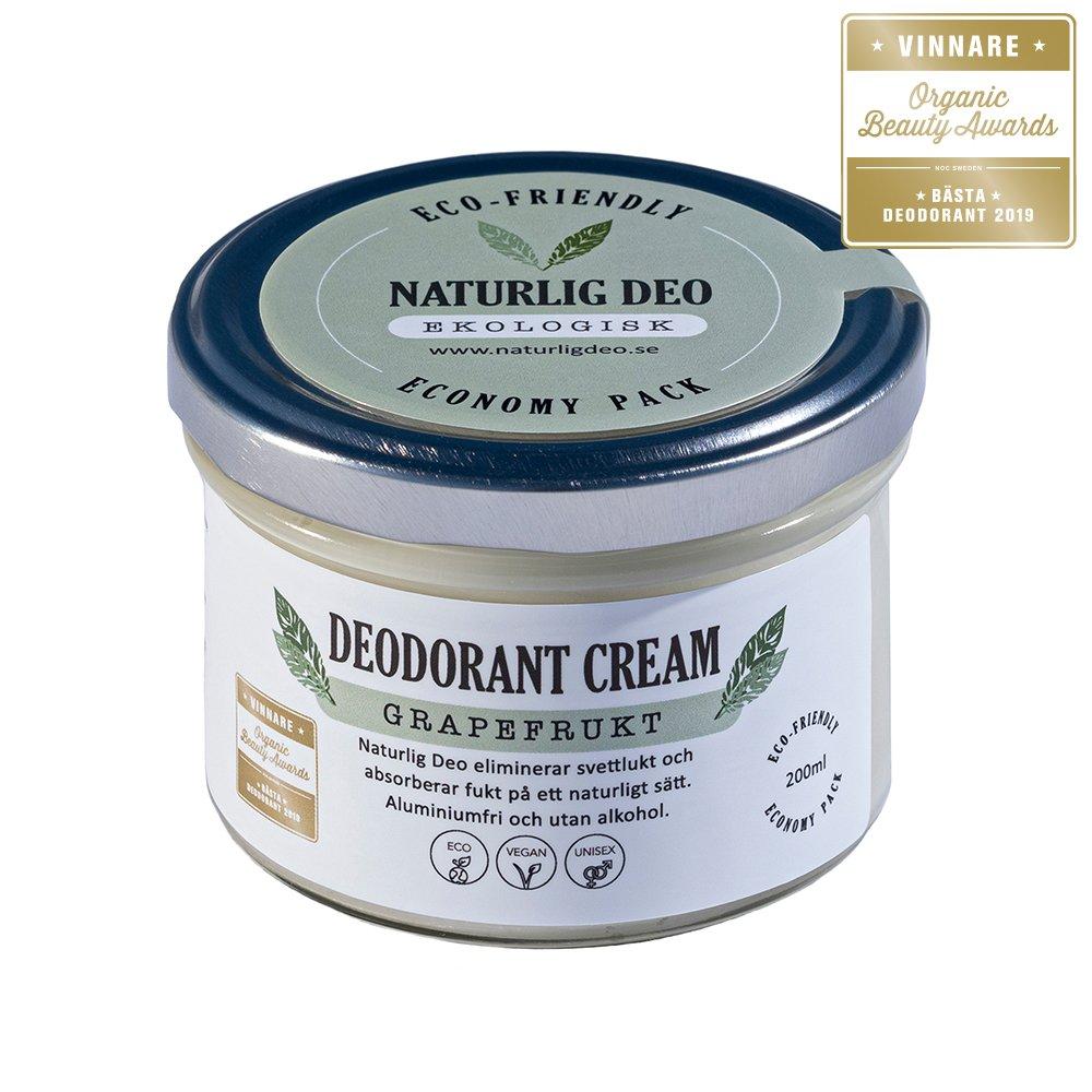 Naturlig Deo Grapefrukt Bästa Deodorant 200ml