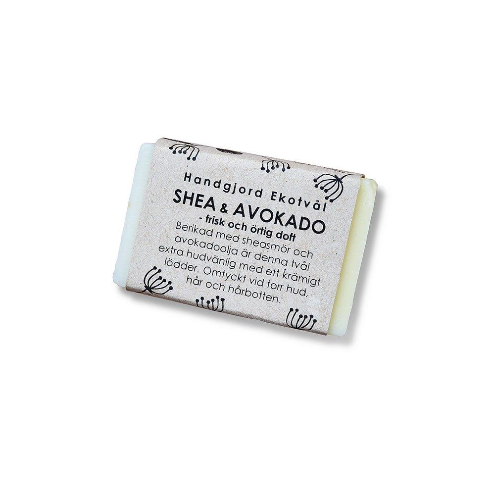 Ekologisk tvål - Shea & Avokado frisk & örtig doft 40g